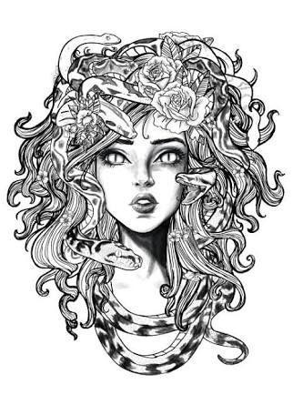 Resultado De Imagen Para Medusa Mitologia Tatuaje Significado Arte De Medusas Dibujo Medusa Tatuajes De Medusas