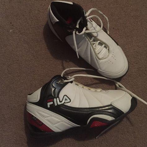 659e228c7705 Men s FILA hi tops size 7.5 New no box boys FILA hi top shoes size 7.5 Fila  Shoes
