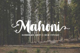 Mahoni Font By Dikas Studio