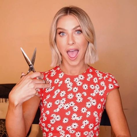 """Julianne Hough on Instagram: """"Cutting my hair > cutting any of tonight's contestants. ✂️ #AGTResults starts now!"""""""