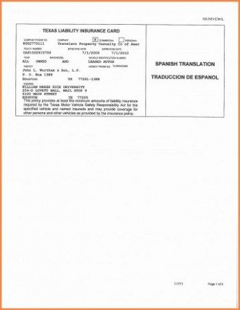 The Story Of Insurance Card Spanish Translation Has Just Gone Viral Car Insurance Insurance Card Template
