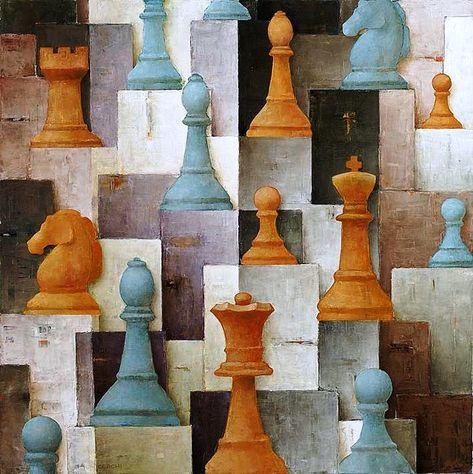 Les 500+ meilleures images de Chess peinture en 2020 | peinture, jeu echec,  échec et mat
