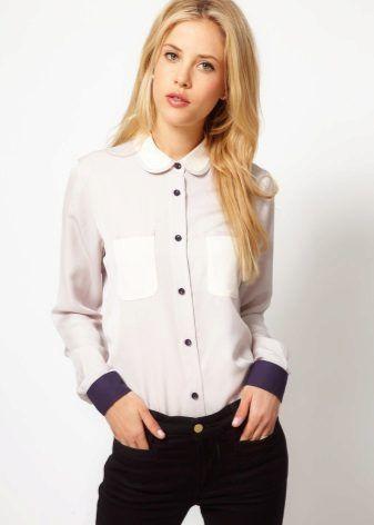 d8f1da764c5 Нарядные блузки (76 фото)  для женщин