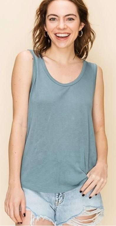 S U M M E R colors! The tanks are so lightweight, comfortable, and cute!