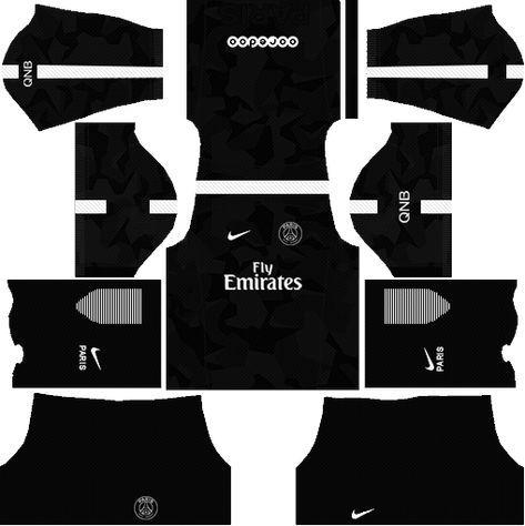 Dream League Soccer 512x512 Kits Url Psg 2017 2018 Ligue 1