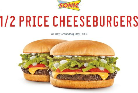 Sonic Drive In Coupons Shopping Deals Fast Food Reviews Sonic Drive In Cheeseburger
