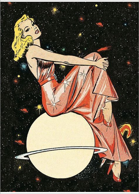 retro space age and the girls are always beautiful Vintage Pop Art, Retro Art, Pin Up Girl Vintage, Vintage Cowgirl, Vintage Space, Vintage Sheet Music, Kunst Inspo, Art Inspo, Comic Kunst