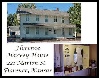 harvey house 221 marion st florence kansas trains harvey house rh pinterest com