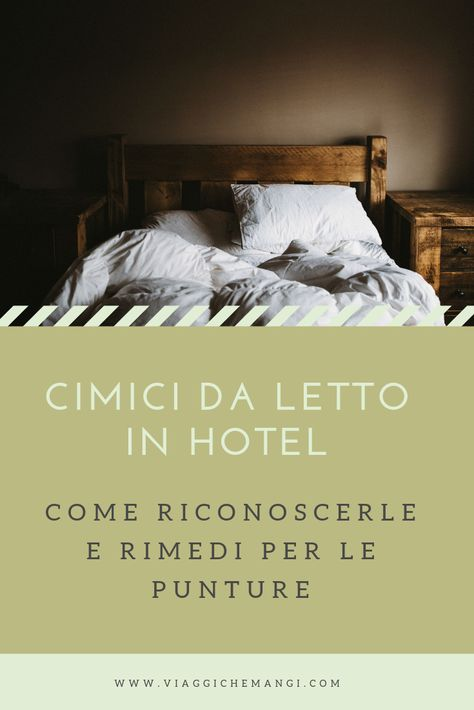 Sono A Letto.Cimici Da Letto In Hotel Come Riconoscerle E Rimedi Per Le