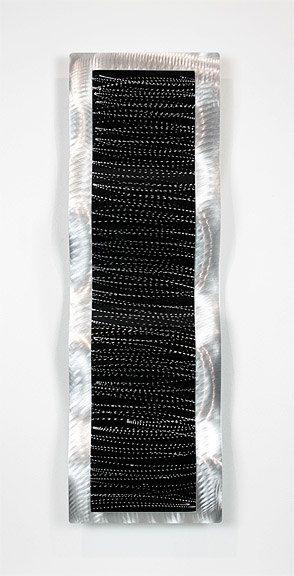 Statements2000 3D Metal Wall Art Sculpture Modern Silver Black Decor Jon Allen