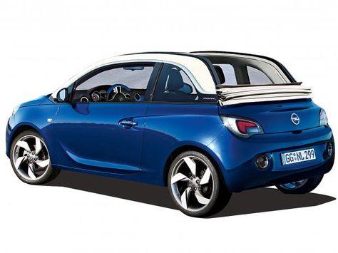 Opel Adam Cabrio 2014 Adam Sky Mit Faltdach Fur Frischluft