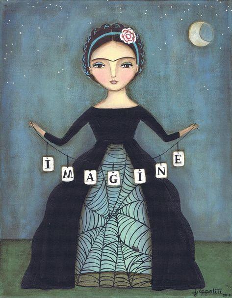 Frida's Dream... Fine Art Print