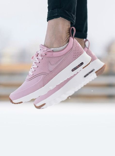 Nike Air Max Thea: Pink | Nike air max thea outfit, Womens