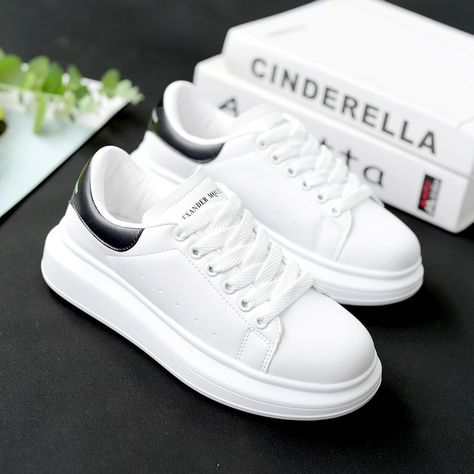 f88e9728b1 2019 Spring and Autumn New Designer Wedges White Shoes Female ...