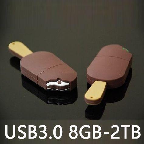 Ice Cream Pendrive 8gb 32gb Cartoon Memoria USB 30 Flash