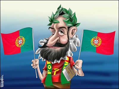 Resultado de imagem para caricatura em portugal