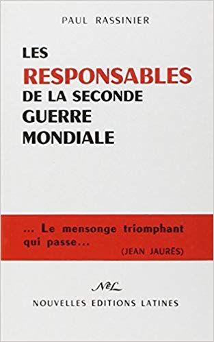 Telecharger Les Responsables De La Seconde Guerre Mondiale Pdf Ebook Gratuit Pdf Books Books Ebook
