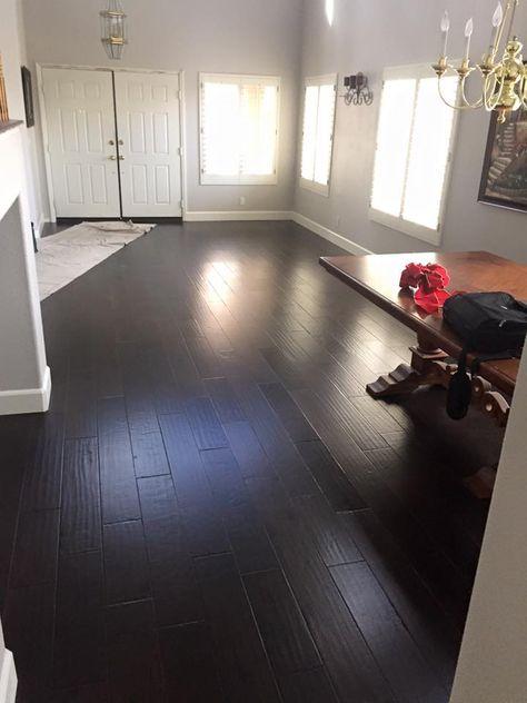 Bausen Floors Midnight Hickory Wood Floors Flooring Type