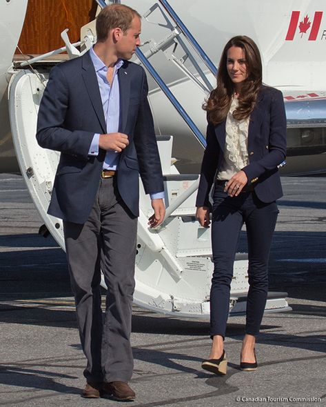 921253768c9 Duchess of Cambridge wore her Pied A Terre Imperia wedges during a visit to Slave  Lake