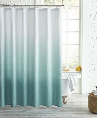 Peri Homeworks Ombre Shower Curtain Bed Bath Shower Curtains