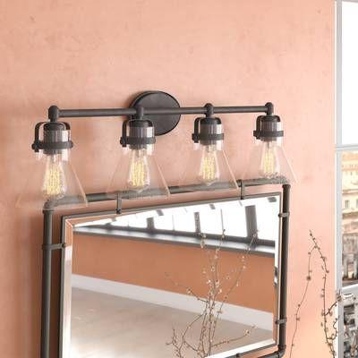 Haefner 4 Light Vanity Light Vanity Lighting Bathroom Vanity Lighting Light