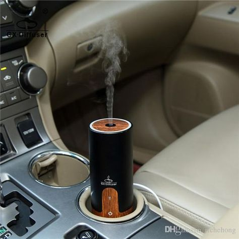 Mini Car Air Humidifier Diffuser Essential Oil Ultrasonic