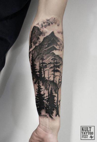 Linework Tattoo Sleeve Sleevetattoos Nature Tattoo Sleeve Sleeve Tattoos Best Sleeve Tattoos