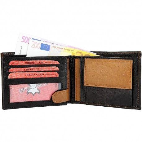 plånbok för många kort