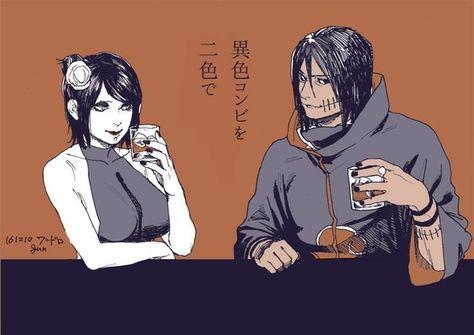 people ship konan and kakuzu? okay