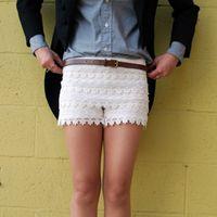 Wonderful DIY Crochet Beach Lace Shorts with Free Pattern