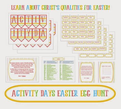 8c7da7d6abc8 Activity Day Ideas  Activity Days Easter Egg Hunt - Serving Others ...
