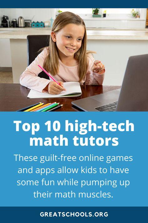 Top 10 high-tech math tutors
