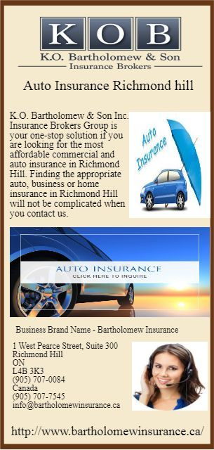 Best Auto And Home Insurance Richmond Hill Auto Hill Home