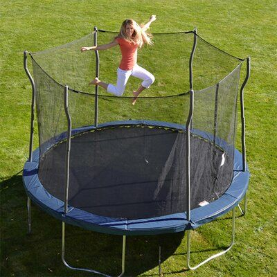 Propel Trampolines Kinetic 12 Round Trampoline And Safety