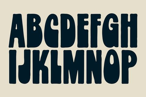 Lettering Fonts Discover Frito Vandito by dougpenick on Typography Alphabet, Typography Fonts, Typography Design, Alphabet Letters, Hand Lettering Fonts, Groovy Font, Retro Font, 1960s Font, Inspiration Typographie