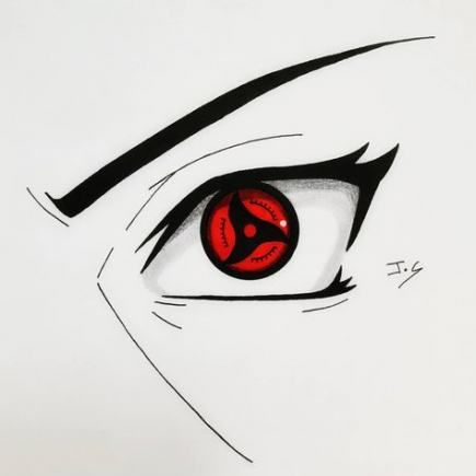 22+ Sharingan Drawing Step By Step Images