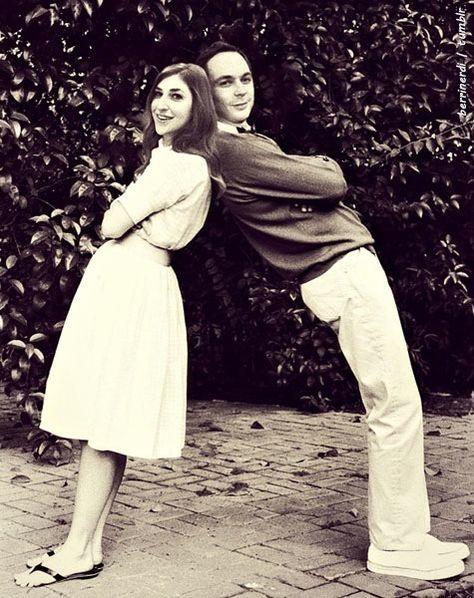 Jim Parsons & Mayim Bialik