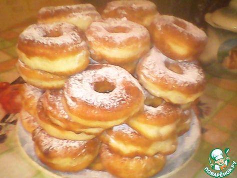 пончики на йогурте рецепт с фото пышные