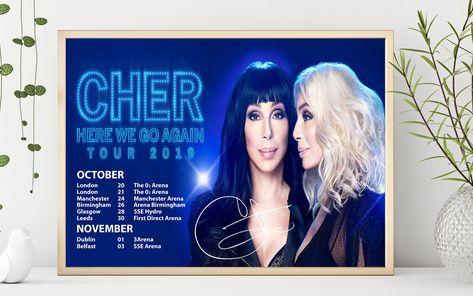 Keane 2019 UK Tour Premium Poster Print Professional Grade Gloss Photo A4 A3 HD