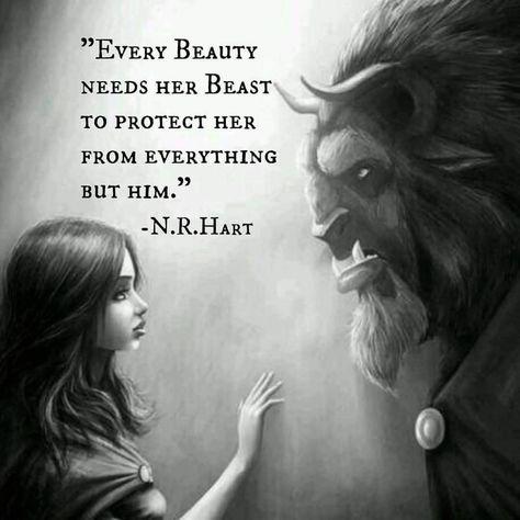 voodooprincessrn: Every beauty has a beast