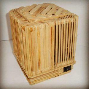 Lampu Tidur Stik Es Krim Craft Stick Crafts Decorative Boxes Crafts