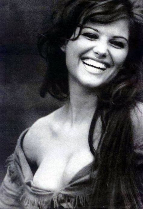 Natter with Sawyer - A young Claudia Cardinale