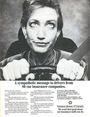 cool Vintage Ad #1,168: Sympathy from the Car Insurance ...
