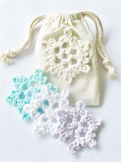 Easy Crochet Snowflake Motif By Cheryl Murray ILuvSandals - Free Crochet Pattern - (ravelry)