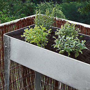 Balkonhochbeet Stahl Verzinkt Schmal Manufactum Hochbeet Hochbeet Bauen Hochbeet Selber Bauen