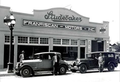 Used Car Dealerships In Charlotte Nc >> Studebaker Dealer Old School Cool Antique Cars Vintage