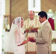 Understanding your catholic wedding ceremony the catholic wedding roman catholic wedding ceremony vows junglespirit Image collections