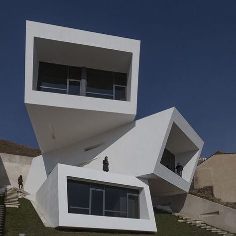 New Wave Architecture Mosha House Maison Moderne Architecture