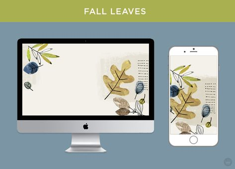 november free digital wallpapers fall feathers and leaves free rh pinterest com