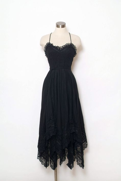 Excited to share the latest addition to my shop: Vintage Dress / Vintage Dress / dress / retro / / party / Dresses / Halter dress / Black dress / Gothic Dress / Grunge dress / Grunge Dress, Goth Dress, 80s Dress, Retro Dress, Lace Dress, Dress Up, Tokyo Street Fashion, 70s Fashion, Fashion Outfits